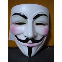 Máscara V De Vingança - Em Resina - Anonymous