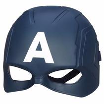 Mascara Os Vingadores Capitão America Original Hasbro
