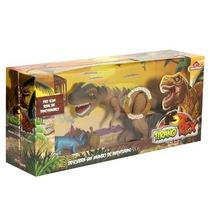 Boneco Dinossauro Tirano Rex Com Som Adijomar