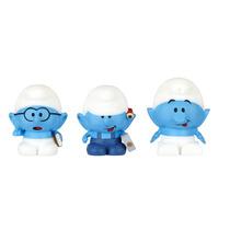 Os Smurfs - Micro Vila - Gênio + Habilidoso + Robô Smurf