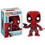 Marvel Universe Deadpool Boneco Vinil Da Funko 10cms