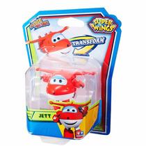 Mini Avião Super Wings - Jett Change