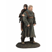 Estátua Boneco Hodor E Bran - Dark Horse - Game Of Thrones