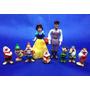 Miniaturas Branca De Neve E Os 7 Anões Bolo Princesas Disney