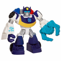 Transformers Rescue Bots Chase The Police-bot 9 Cm Hasbro