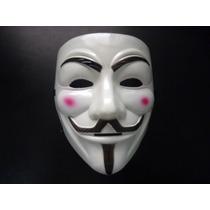 Máscara V De Vingança Anonymous Nova Lavável Promoção