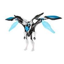 Boneco Max Steel Invasão Aérea Turbo Brinquedo Transforma