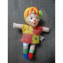 Boneca Emília Estrela Sítio-do-pica-pau-amarelo Perfeita