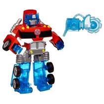Boneco Optimus Prime Transformers Rescue Bots Energize Robô
