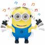 Dave Minion Falante Dancing Reage A Sons- Interativo Toyng
