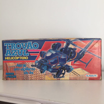 Helicoptero - Trovão Azul - Glasslite - Anos 80
