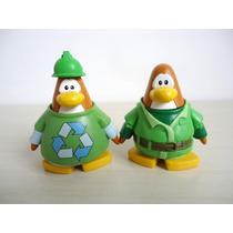 Bonecos Club Penguin Jakks Disney Kit 2 Peças Lote 3 ! !