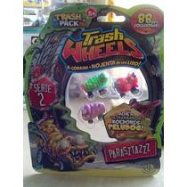 Trash Wheels Blister Com 4 Série 2 Parasitazzz