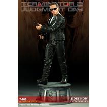 Sideshow Terminator 2- T-800 Estátua Exterminador Do Futuro