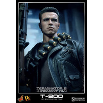 Hot Toys Dx10 Terminator 2 T2 T800 Exterminador Do Futuro