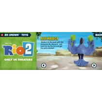 Boneco Blu Maraca Do Filme Rio 2 Lacrado Novo