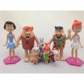 Miniaturas Flintstones Coleção Completa Bonecos Fred Barney