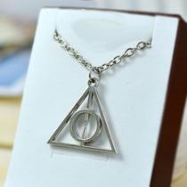 Colar Relíquias Da Morte, Centro Fixo - Harry Potter - Lindo
