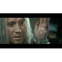 Colar Relíquias Da Morte Com Centro Giratório - Harry Potter