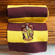 Cachecol Grifinória Importado Hogwarts Pronta Entrega Cospla