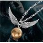 Colar Pomo De Ouro - Harry Potter Folheado A Prata No Brasil