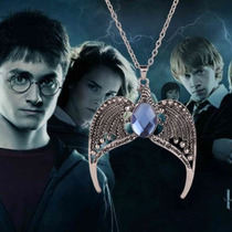 Colar Harry Potter Ravenclaw Diadema Safira Coroa Dumbledore