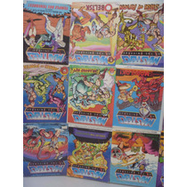 Lote 18 Minicomics He-man And Masters Of The Universe