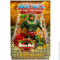 Masters Of The Universe Classics King Hssss