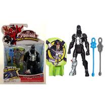 Boneco Lança Teias Agent Venom Homem Aranha Original Hasbro