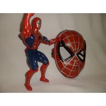 Boneco Do Homem Aranha 25 Cm + Máscara