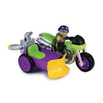 Boneco Tartarugas Ninjas Half Shell Hero - Donatello E Veí
