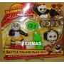 Boneco Kung Fu Panda - Kit Com 9 Peças