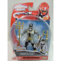 Power Rangers Super Megaforce Ranger Prata Figura De Ação