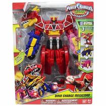 Power Ranger Dino Charger Megazord Luxo 3 Zords Sunny/bandai