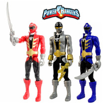 Kit Figuras Power Rangers Super Megaforce 30cm Bandai