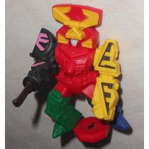 Power Rangers Samurai Megazord 10cm Articulado Mcdonalds