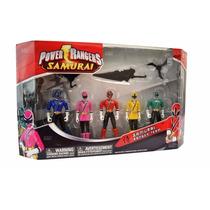 Power Rangers Samurai Ranger Team Articulados - 11cm Bandai