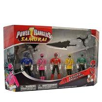 Bandai Rangers Samurai Ranger Team Combo Com 5 Rangers