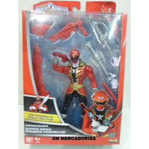 Power Rangers Super Megaforce Super Mega Ranger Vermelho