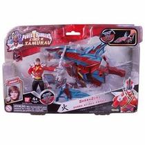 Power Ranger Super Samurai Shark Zord & Ranger Fogo Bandai