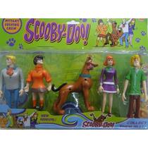 05 Bonecos Scoobydoo Com Som Movem Braços Pernas Cabeça