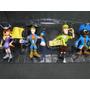 Aventura Pirata Scoobydoo 04 Bonecos Articulados 12cm Altura