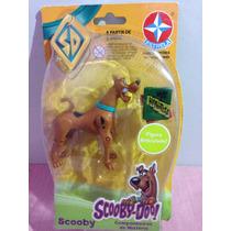 Boneco Scooby Doo Articulado Miniatura Original Estrela