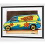 Quadro - Mystery Machine - Scooby-doo