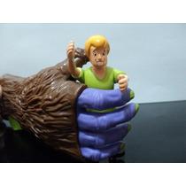 Scooby-doo Coleção Mc Donalds Mão Monstro + Salsicha