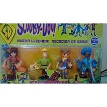 Kit Com 4 Bonecos Do Scooby Doo Colecão Pirata Cartelado