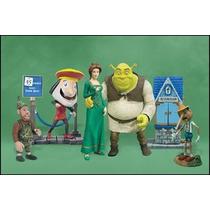 Shrek & Fiona And Friends - 5 Figuras - Mc Farlane - Box Set