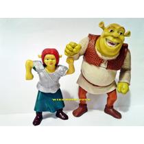Lote Mc Donalds Dupla Shrek E Fiona - No Estado
