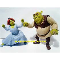Coleção Mc Donalds Shrek - Shrek & Fiona - Mc Lanche Feliz