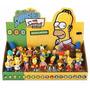 Bonecos Os Simpsons Miniatura Display C/24 Peças Multikids